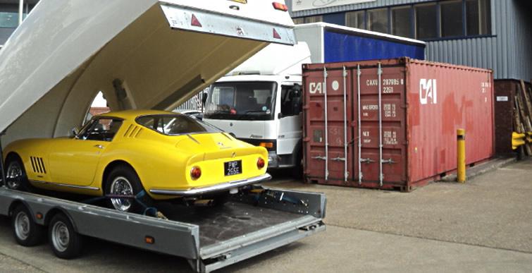 Shipping Ferrari Abroad