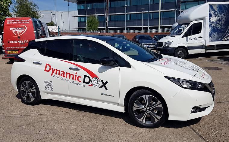 Dynamic International electric fleet car