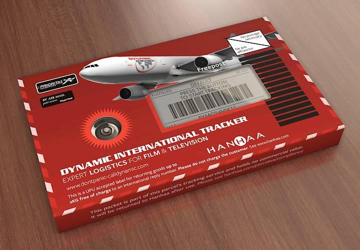 Dynamic International freight tracker